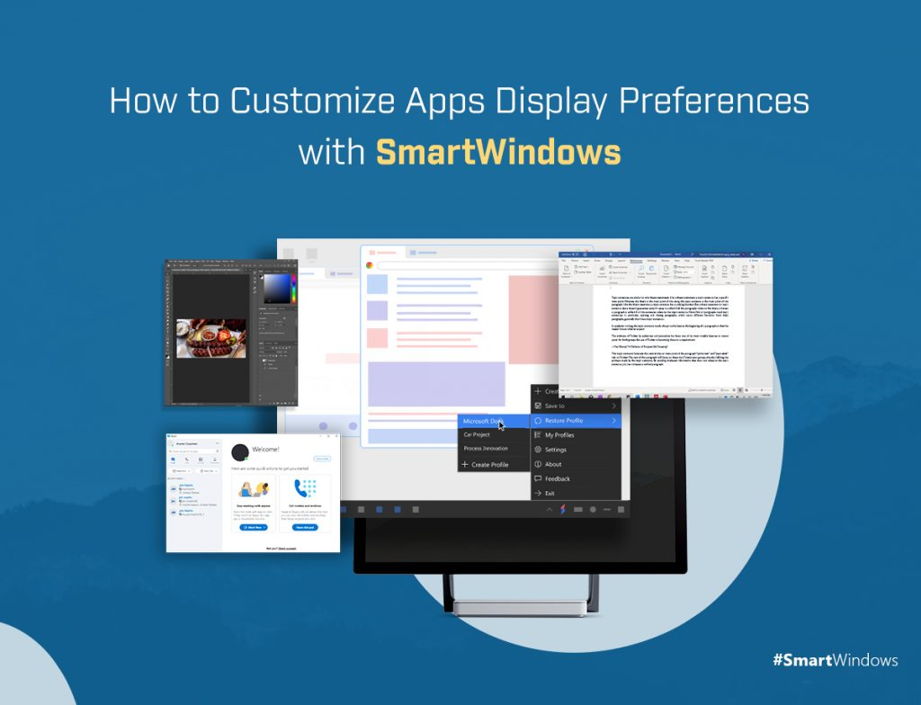 How to Customize Apps Display Preferences with SmartWindows
