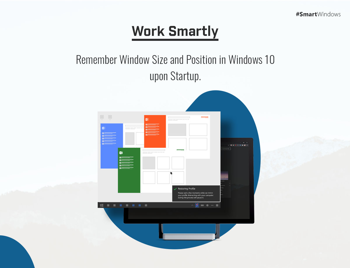 remember window size and position windows 10