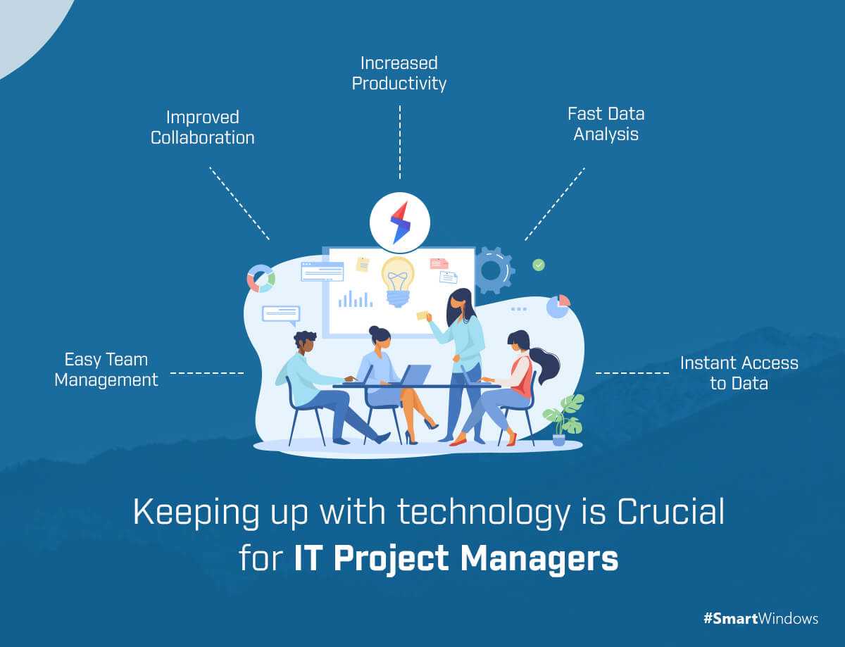 Keeping up with Technology is Crucial for IT Project Managers