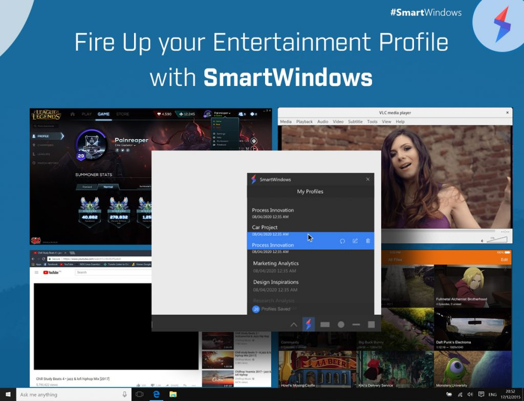 Fire Up your Entertainment Profile with SmartWindows