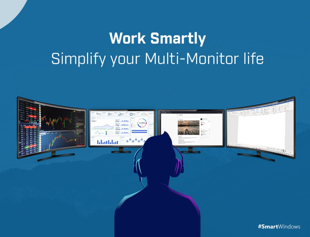 Work Smartly – Simplify your Multi-Monitor Life